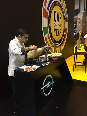 Catering Madrid: Digital Enterprise Show, Opel V.O., ALD Automotive, Accenture