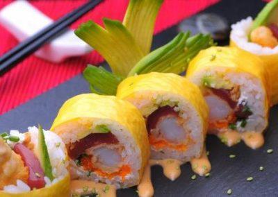 Rodajas de sushi