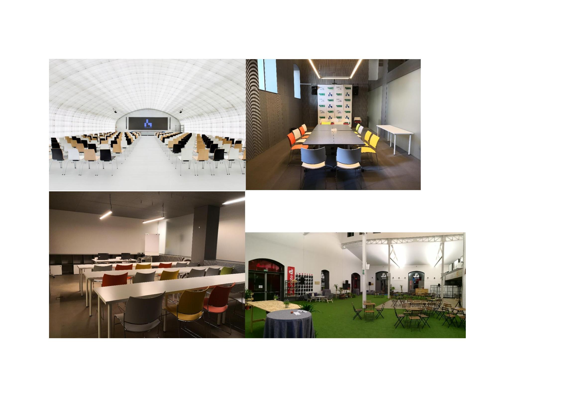 Auditorio Casa del Lector y espacio Lab